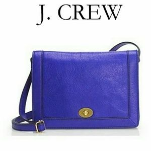 🆕 J. Crew Pebbled Leather Tillary Bag